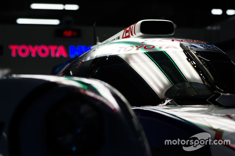 Toyota Racing car detail