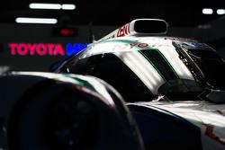 Toyota Racing car detail