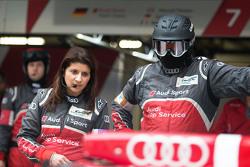 Ліна Гаде, гоночний інженер Audi Sport Team Joest