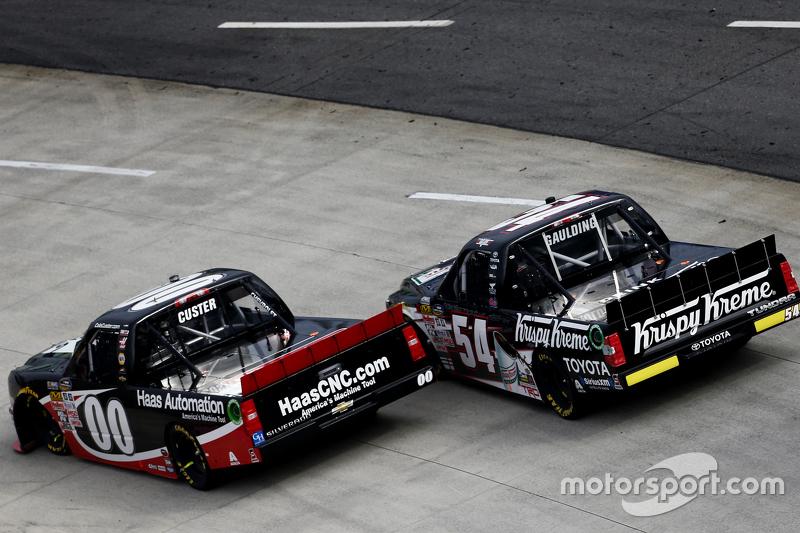 Коул Кастер, Jr Motorsports Chevrolet та Gray Gaulding