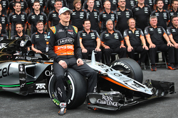 Нико Хюлькенберг, Sahara Force India F1 - командное фото
