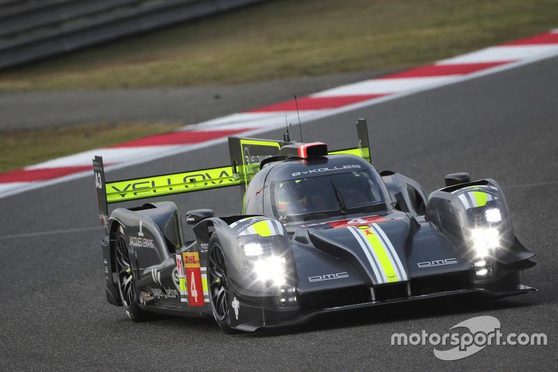 السيارة رقم 4 فريق بايكوليس ريسينغ سي إل إم بي/01: سيمون ترومر، بيير كافير