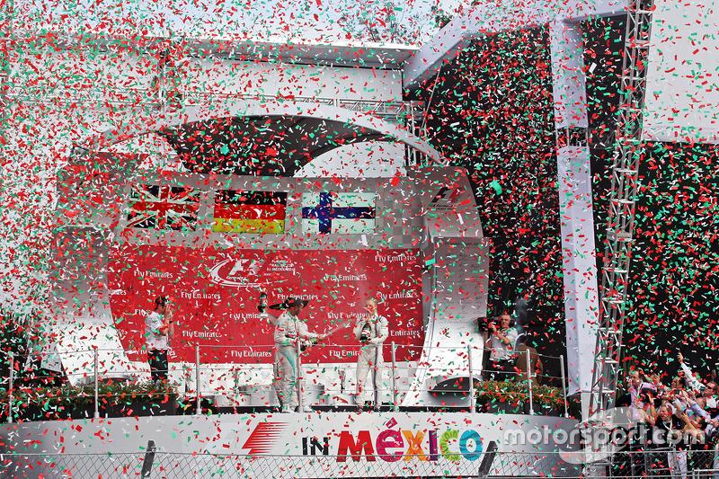 Podio: Lewis Hamilton, Mercedes AMG F
