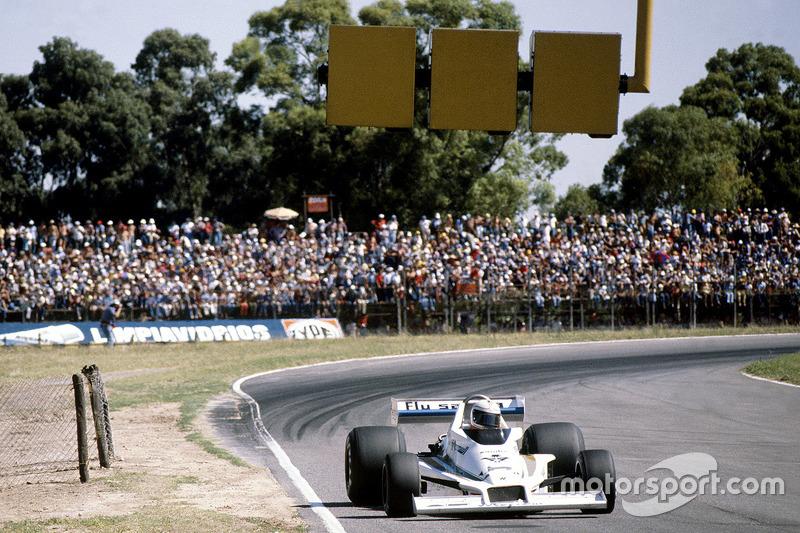 Alan Jones lors du GP d'Argentine 1978