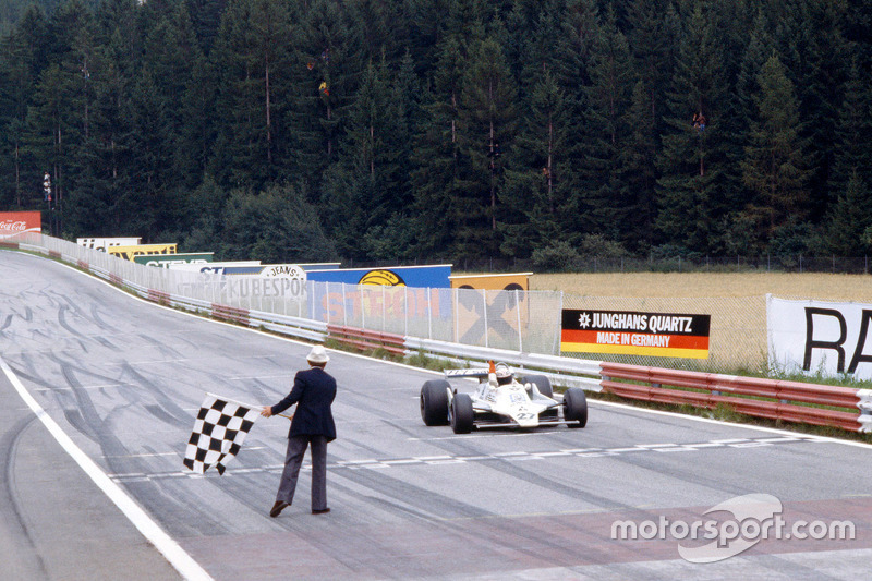 Alan Jones, Williams remporte la course