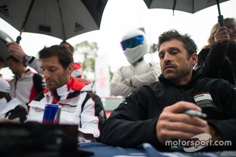 Марк Веббер, Porsche Team з Патрік Демпсі, Dempsey Proton Racing