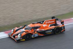 #28 G-Drive Racing Ligier JS P2: Рікардо Гонсалес, Luis Felipe Derani, Густаво Якаман