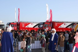 Red Line Off-Road Team, Mundo Dakar event: Red Line Off-Road Team service trucks