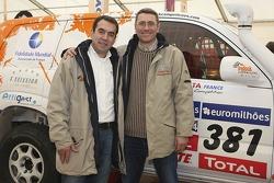 Adelio Machado and Laurent Flament