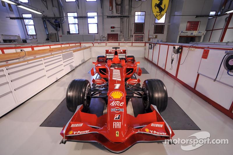 The new Ferrari F2008