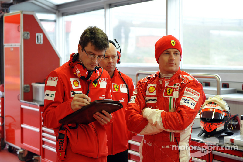 Chris Dyer ve Kimi Raikkonen