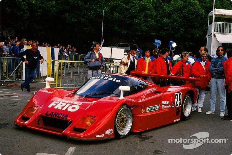 Mussato Action Car Lancia LC2 : Almo Copelli, Franco Scapini