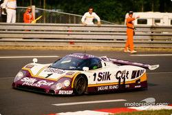 #1 Silk Cut Jaguar Jaguar XJR9 LM: Jan Lammers, Patrick Tambay, Andrew Gilbert Scott