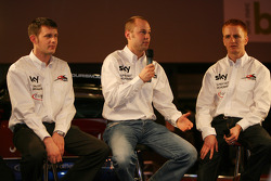 Andrew Kirkaldy, Rob Bell, Tim Mullen