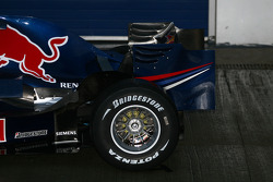 Detail of the new Red Bull RB4