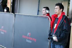 Takashi Kogure Test driver, Honda Racing F1 Team