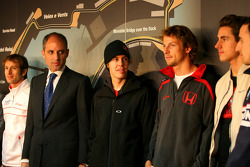 Sebastian Vettel, Scuderia Toro Rosso, Jenson Button, Honda Racing F1 Team Jenson Button, Honda Racing F1 Team