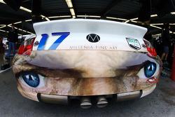 Detail of the Terra Firma Motorsports Porsche GT3 Cup