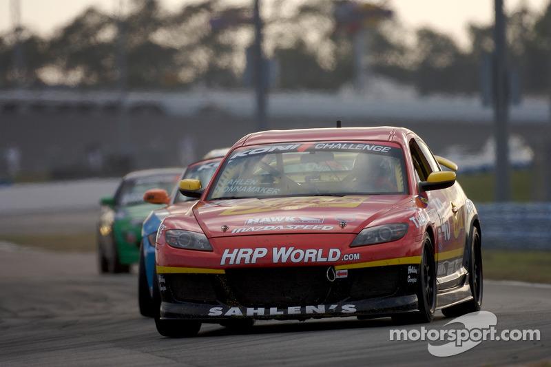 #43 Team Sahlen Mazda RX-8: Joe Nonnamaker, Joe Sahlen