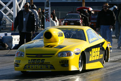 2007 Pro Stock Campion Jeg Coughlin on a solo qualifying run