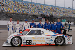 #58 Brumos Racing Porsche Riley: David Donohue, Darren Law, Buddy Rice