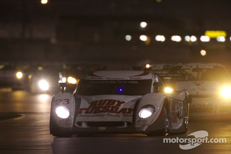 #23 Alex Job Racing Porsche Crawford: Bill Auberlen, Joey Hand, Patrick Long, Andy Wallace