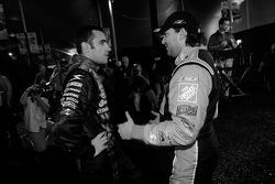 Dario Franchitti and Tony Stewart