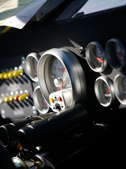 Instrument panel of the Red Bull Toyota