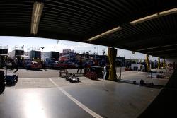 Empty garage area