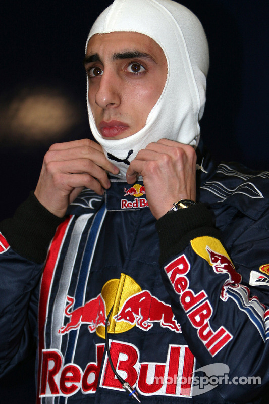 Sébastien Buemi, test driver, Red Bull Racing
