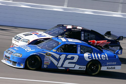 Ryan Newman and Sam Hornish Jr.