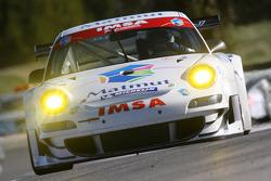 #75 IMSA Performance Matmut Porsche 997 GT3 RSR: Richard Balandras, Jean-Philippe Belloc, Michel Lecourt