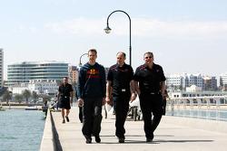 Sébastien Bourdais, Scuderia Toro Rosso, Franz Tost, Scuderia Toro Rosso, Team Principal, Gorgio Asc