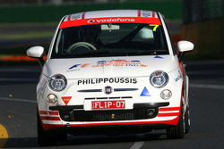 Mark Philippoussis, FIAT 500 Celebrity Challenge, former Wolrd and Olympic champion  of swimming- Formula 1 World Championship, Rd 1, Australian Grand Prix, Friday Practice