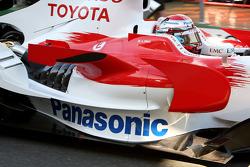 Jarno Trulli, Toyota Racing, TF108, Sidepod