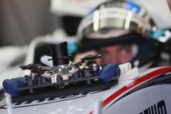 BMW Sauber F1 Team, F1.08, steering wheel