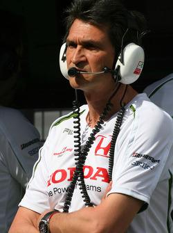 Jacky Eeckelaert, Honda Racing F1 Team, Chief Engineer _± Advanced Research Programmes
