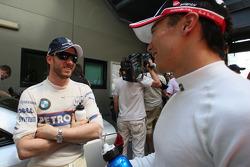 Nick Heidfeld, BMW Sauber F1 Team, Takuma Sato, Super Aguri F1  / Drivers group picture 2008
