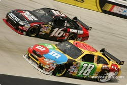 Kyle Busch and Greg Biffle