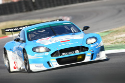 #33 Jet Alliance Racing Aston Martin DBR9: Karl Wendlinger, Ryan Sharp, Lukas Lichtner Hoyer
