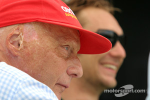 Niki Lauda, Former F1 world champion and RTL TV