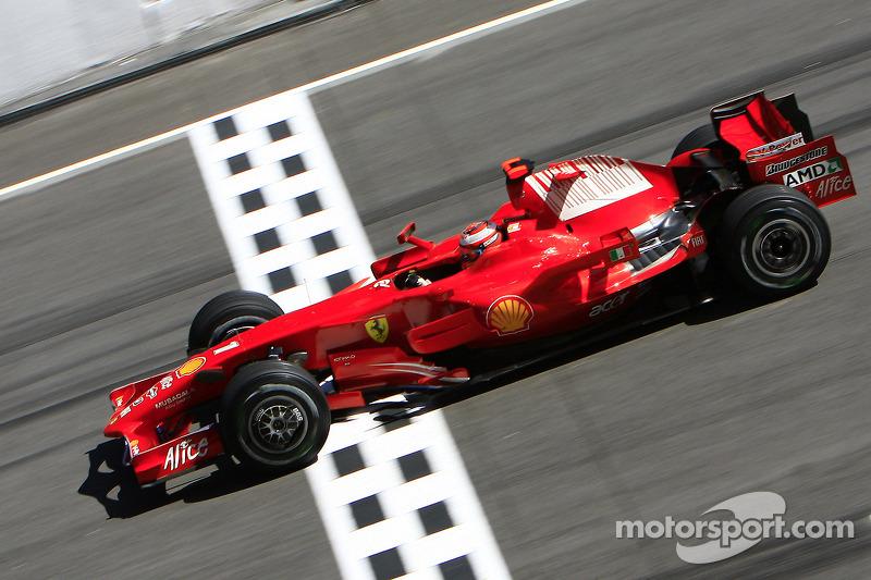 2008. Малайзія. Кімі Райкконен, Ferrari F2008