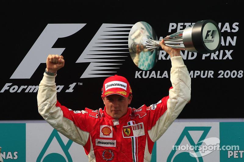 2008 - Кімі Райкконен, Ferrari