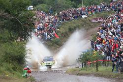 Mikko Hirvonen and Jarmo Lehtinen, BP Ford Abu Dhabi World Rally Team, Ford Focus RS WRC