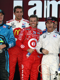 Dan Wheldon and Bruno Junquiera