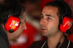 Nicolas Todt, Manager of Felipe Massa and his father Jean Todt, Scuderia Ferrari, Ferrari CEO