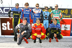 IndyCar, Indy Lights and American Le Mans Series drivers from Andretti Green Racing