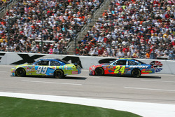 Carl Edwards et Jeff Gordon
