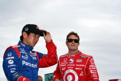 Hideki Mutoh and Scott Dixon