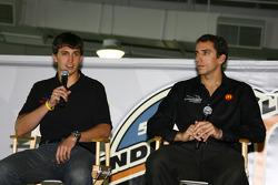 Pilotos Newman / Haas / Lanigan Graham Rahal y Justin Wilson